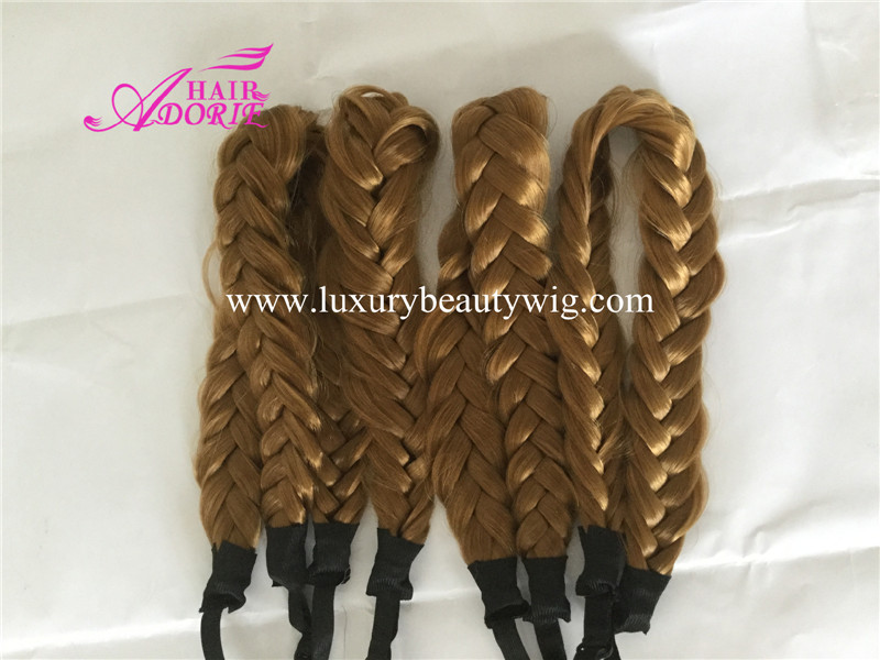 Custom synthetic braid